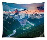 Mount Rainier And White River Tapestry