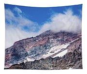 Mount Rainier Closeup Tapestry