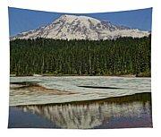 Mount Rainier Reflection Lake Tapestry