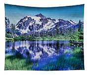 Mount Shuksan And Picture Lake Tapestry