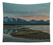 Mount Tallac At Sunset Tapestry