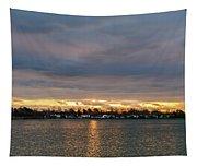 Mount Trashmore Sunrise 2 Tapestry