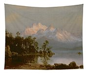 Mountain Canoeing Tapestry