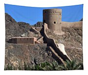 Mountain Fort Tapestry