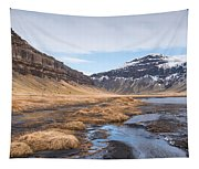 Mountain Landscape Iceland Tapestry