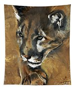 Mountain Lion - Guardian Of The North Tapestry