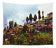 Mountain Living Impasto Tapestry