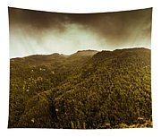 Mountain Of Trees Tapestry