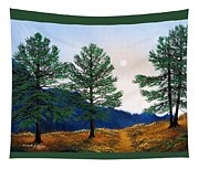 Mountain Pines Tapestry
