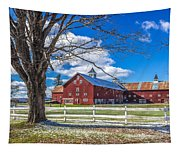 Mountain View Barn Tapestry