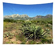 Mountain View Las Cruces Tapestry