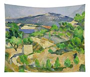 Mountains In Provence Tapestry