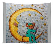 Mouse On The Moon Tapestry