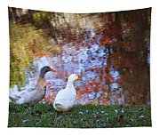 Mr And Mrs Duck Tapestry
