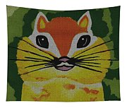 Mr Chipmunk Tapestry