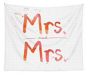 Mrs And Mrs Tapestry