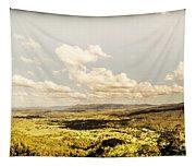 Mt Mee Vintage Landscape Tapestry