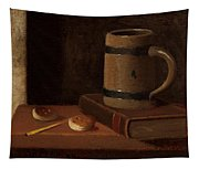 Mug Book Biscuits And Match Tapestry