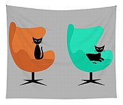 Mug Design With Egg Chairs Tapestry