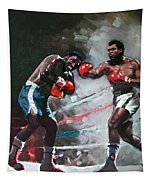 Muhammad Ali And Joe Frazier Tapestry