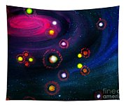 Multi-colored Constellation  Tapestry