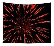 Multicolored Fireworks 2 Tapestry