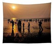 Mumbai Sunset Tapestry