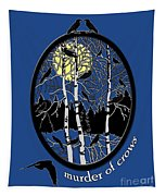 Murder Of Crows Tapestry
