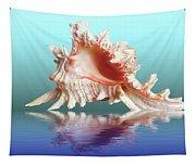 Murex Seashell Reflection Tapestry