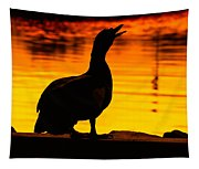 Muscovy Sunset Tapestry