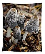 Mushroom Quartet Tapestry