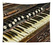 Music - Pump Organ - Antique Tapestry