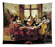 Music, 17th Century Tapestry