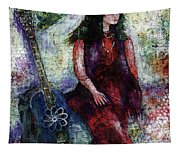 Music Feeds Her Spirit Too Tapestry