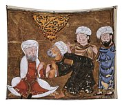 Muslim Court, 1334 A.d Tapestry