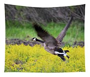 Mustard Flight Tapestry