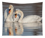 Mute Swans Tapestry