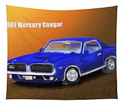 My 1967 Cougar  Tapestry