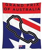 My 2017 Grand Prix Of Australia Minimal Poster Tapestry
