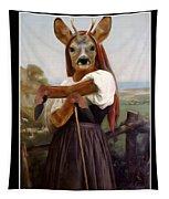 My Deer Shepherdess Tapestry