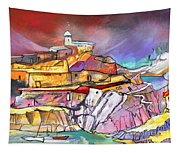 My Dream Place In Spain Tapestry