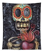 My Sacred Heart Tapestry by Abril Andrade Griffith