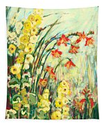 My Secret Garden Tapestry by Jennifer Lommers