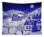My Take On Grandma Moses Art Tapestry