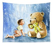 My Teddy And Me 03 Tapestry