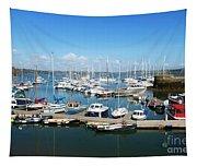 Mylor Marina Cornwall Tapestry