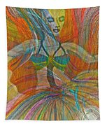 Mysterious Dancer Tapestry