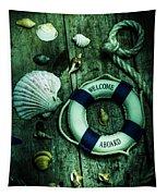 Mystery Aboard The Sunken Cruise Line Tapestry