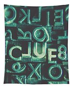 Mystery Writer Clue Tapestry