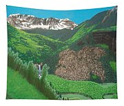 Mystic Falls On Lake Fork San Miguel River Tapestry